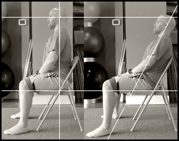 Sitting Versus Slumping Comparison