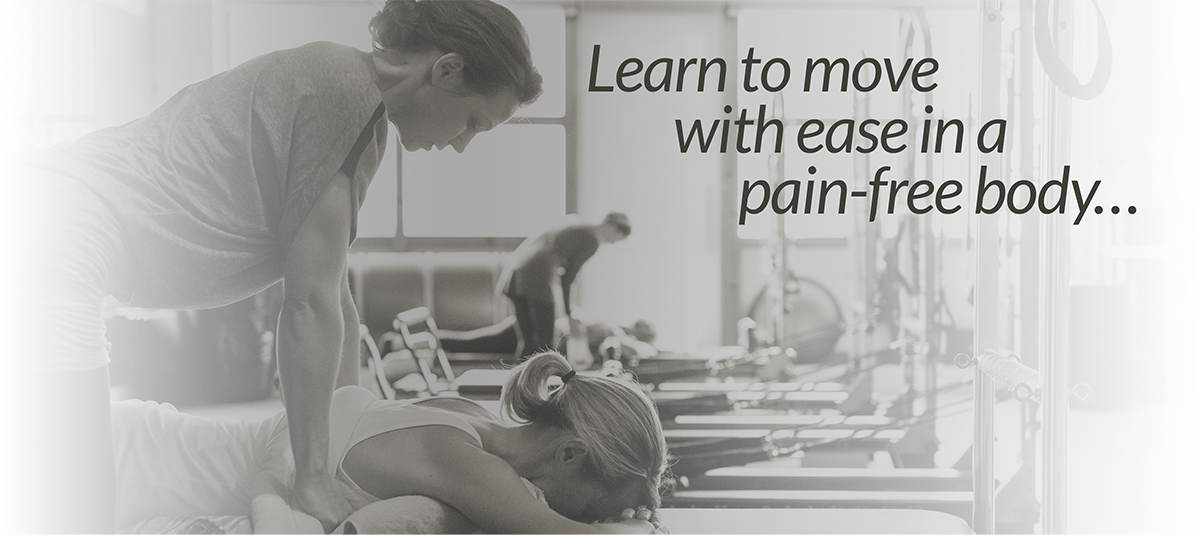 Learn to live with ease in a pain-free body…