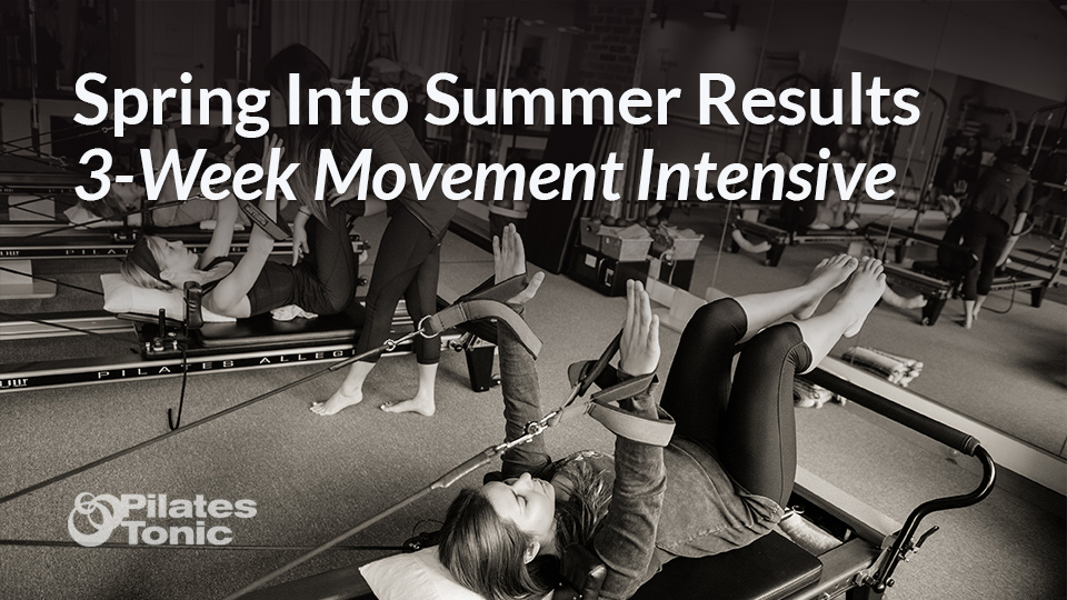spring into summer results 3 week movement intensive