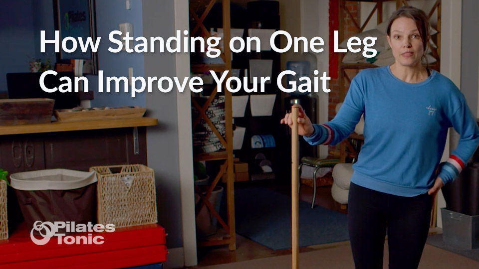 Featured image - How Standing on One Leg Can Improve Your Gait